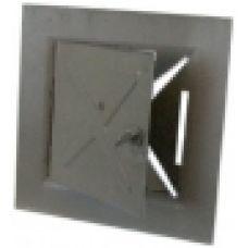 Дверца металлическая прочистная 90х90 мм Водолей ЯП