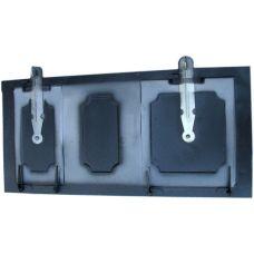 Дверца металлическая цельная 470х210 мм Водолей ЯП