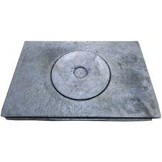 Плита чугунная однокомфорочная универсальная 355*410 Бучач