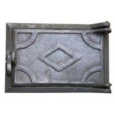 Дверца чугунная поддувная 160х240 Конист