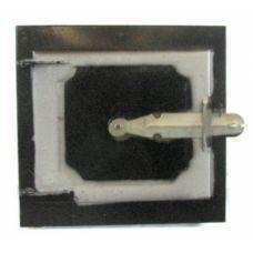 Дверца металлическая топочная 210х190 мм Водолей ЯП