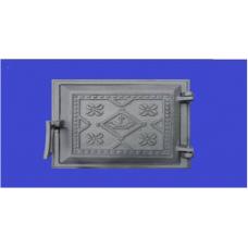 Дверца чугунная поддувная (Вышиванка) Конист