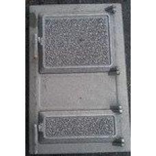 Дверца чугунная спареная 305*465 мм Татарская