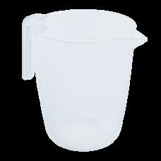 Мерный стакан 1 л (прозрачный) Алеана 167019