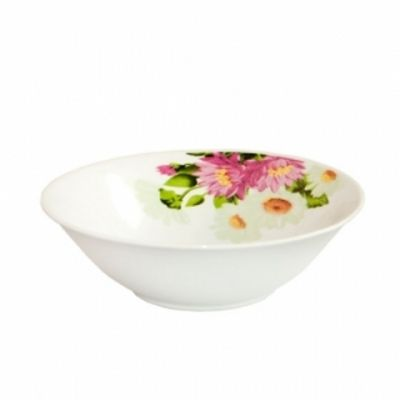 Салатник круглый 17,5 см Хризантемы Данко М
