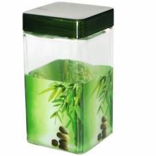 Емкость для сыпучих продуктов Зеленый бамбук SnT 612