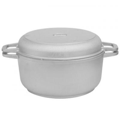 Кастрюля с утолщ дном и крышкой-сковородой Биол КЗ02