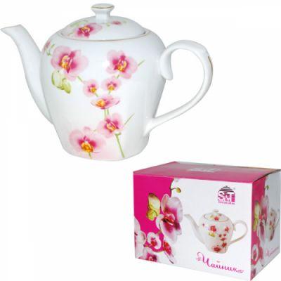 """Чайник SnT """"Орхидея"""" керам. 22301"""