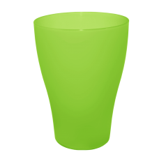 Набор стаканов 0,25 л 3 шт (салатовый прозрачный) Алеана 168036