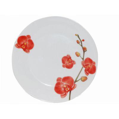 Тарелка 23 см Орхидеи SnT 3081