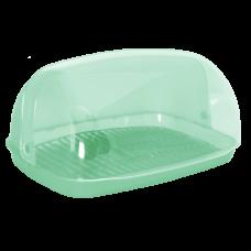 Хлебница 36*27*18 см (салатовый) Алеана 167081