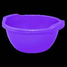 Таз круглый 15 л (фиолетовый перламутр) Алеана 121054