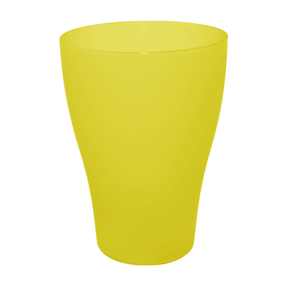 Стакан 0,25 л (жёлтый прозрачный) Алеана 167096