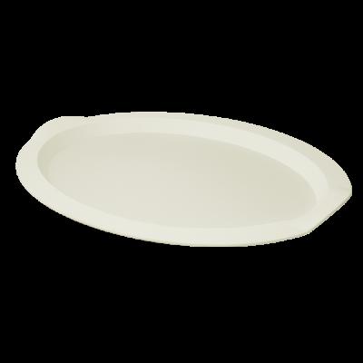 Поднос овальный 47*35*4 см (светло-бежевый) Алеана 167403