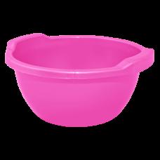 Таз круглый 12 л (темно-розовый) Алеана 121061
