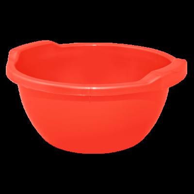 Таз круглый 15 л (красный) Алеана 121054