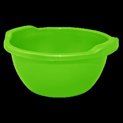 Таз круглый 44 л (светло-зеленый) Алеана 121056