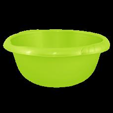 Таз круглый Евро 22 л (оливковый) Алеана 121060