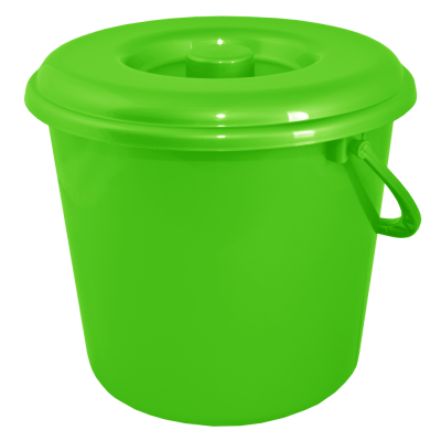 Ведро 10 л без крышки (светло-зеленый) Алеана 122010