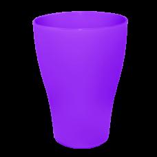 Набор стаканов 0,25 л 3 шт (тёмно-сиреневый) Алеана 168036