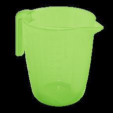 Мерный стакан 1 л (салатовый прозрачный) Алеана 167019