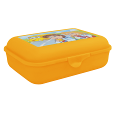 Бутербродница Смайл (оранжевый прозрачный) Алеана 167400