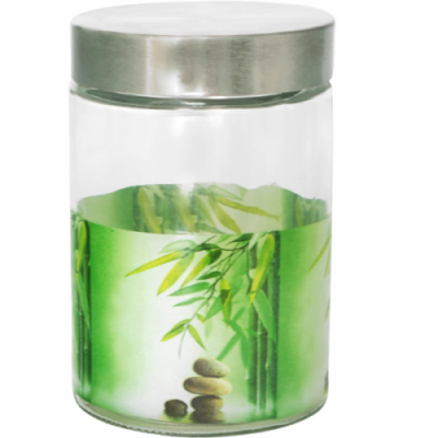 Емкость для сыпучих продуктов Зеленый бамбук SnT 606