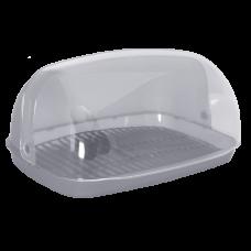 Хлебница 36*27*18 см (серый) Алеана 167081