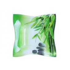 Салатник прямоугольный малый 15 см Зеленый бамбук SnT 378