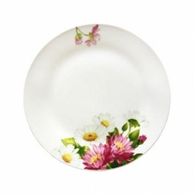 Тарелка круглая десертная Хризантемы Данко М