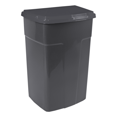 Бак мусорный 90 л (серый) Алеана 122062