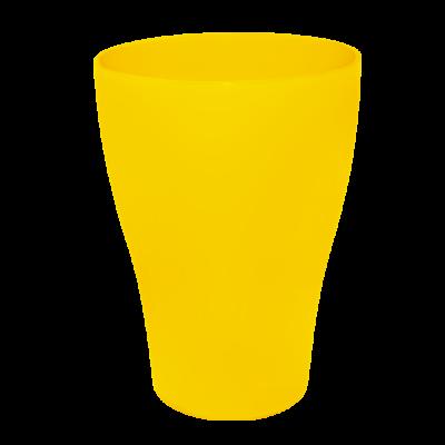 Набор стаканов 0,25 л 3 шт (тёмно-жёлтый) Алеана 168036