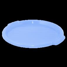 Поднос круглый 39 см (голубой) Алеана 167098