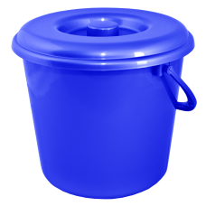 Ведро 10 л без крышки (синий) Алеана 122010