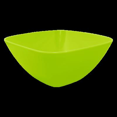 Салатница 120*120*55 мм 0,3 л (оливковый) Алеана 168001