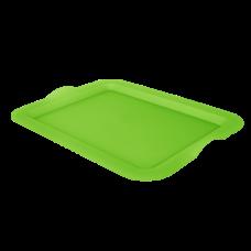 Поднос прямоугольный 46*36*4 см (оливковый) Алеана 167404