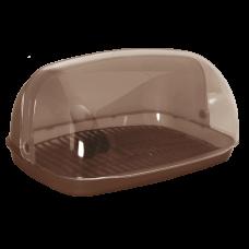 Хлебница 36*27*18 см (темно-коричневый) Алеана 167081
