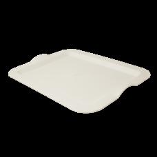 Поднос прямоугольный 46*36*4 см (светло-бежевый) Алеана 167404