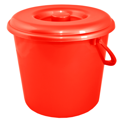 Крышка для ведра 10 л (красный) Алеана 122030
