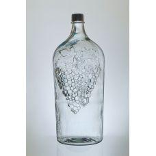 Бутыль стеклянный для вина 7 л с крышкой Симон Украина