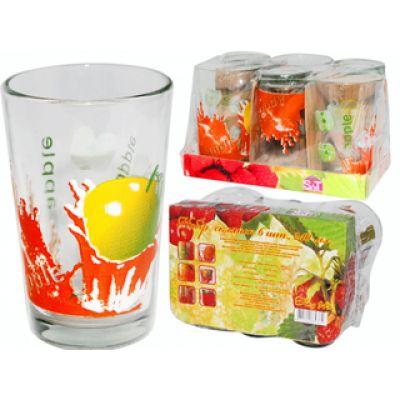 """Набор стаканов SnT """"Яблуко"""", 945-2"""