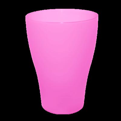 Набор стаканов 0,25 л 3 шт (тёмно-розовый) Алеана 168036