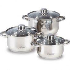 Набор посуды 6 предметов Maestro MR 2020-6М