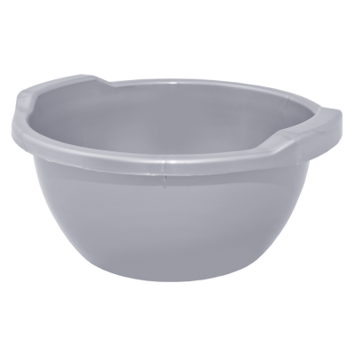 Таз круглый 8 л (серый) Алеана 121053