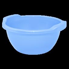 Таз круглый 12 л (голубой) Алеана 121061