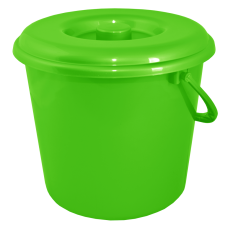 Ведро 5 л без крышки (светло-зеленый) Алеана 122005