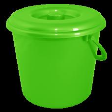 Крышка для ведра 10 л (светло-зеленый) Алеана 122030