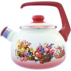 Чайник Metalac Корзина цветов