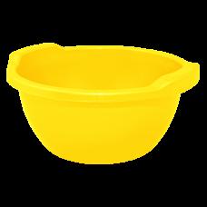 Таз круглый 15 л (желтый) Алеана 121054