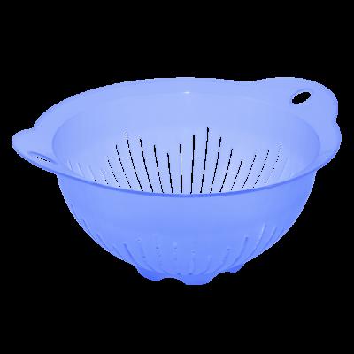 Дуршлаг 22 см (фиолетовый прозрачный) Алеана 167401